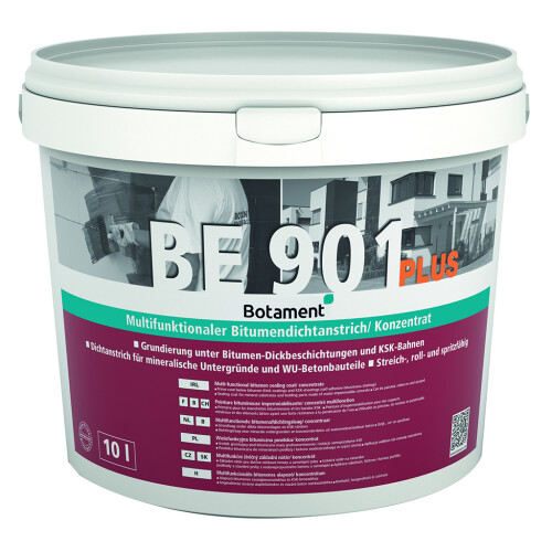 Botament BE 901 Plus/ Kübel 10l